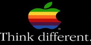 """Apple với Slogan """"Think different"""" nghĩa là Hãy suy nghĩ khác biệt"""