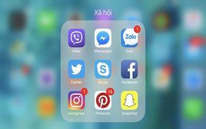 Các ứng dụng Over The Top phổ biến hiện nay là Facebook, Zalo, Instagram,..
