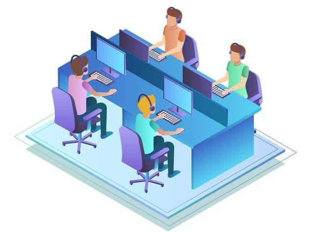 Call center giúp nâng cao tính chuyên trong dịch vụ và cả tính chuyên trong doanh nghiệp