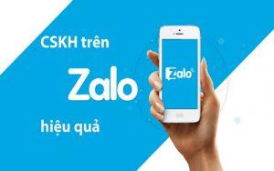 Chăm sóc khách hàng qua Zalo là gì?