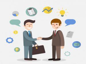 Chủ động giao tiếp với khách hàng bằng cách chào hỏi, hỏi thăm