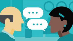 Hãy bắt đầu bằng việc giao tiếp với khách hàng