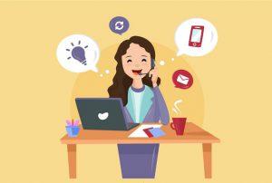 Một nhân viên chăm sóc khách hàng qua điện thoại cần có giọng nói truyền cảm