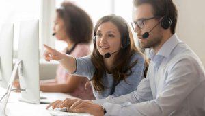 Nhân viên telesale khách hàng lẻ và nhân viên telesale cho khách hàng doanh nghiệp