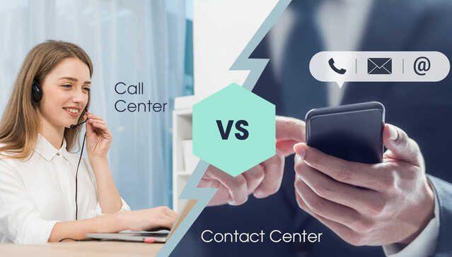 Sự khác nhau giữa call center và contact center. Doanh nghiệp nên chọn call center hay contact center