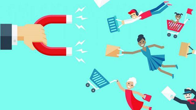 Để có người tiêu dùng, doanh nghiệp bắt buộc phải thu hút thêm khách hàng mới