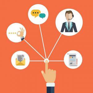Thu thập thông tin khách hàng thường là nhờ từ các website và các trang mạng