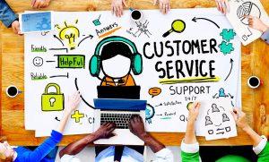 Luôn bình tĩnh giải quyết những thắc mắc của khách hàng khi khảo sát trực tiếp