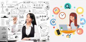 Một bộ phận dịch vụ khách hàng thành công đi kèm với hiệu suất làm việc hiệu quả