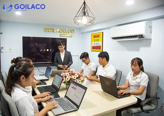 GOILACO là một trong những đơn vị cung cấp dịch vụ Call Center uy tín hiện nay